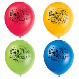 """Mickey 12"""" Latex Balloons, 8 pieces"""
