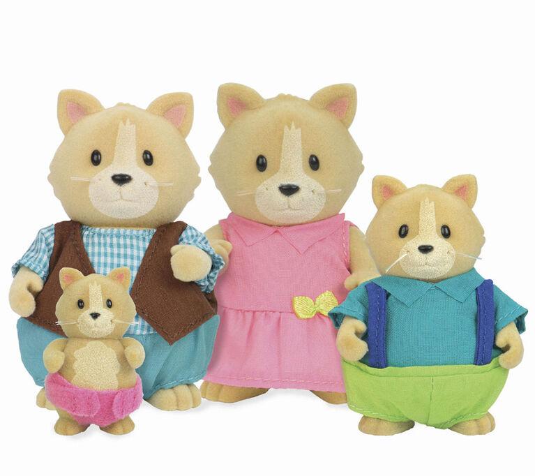 Whiskerelli Chats, Li'l Woodzeez, Ensemble de petites figurines de chats