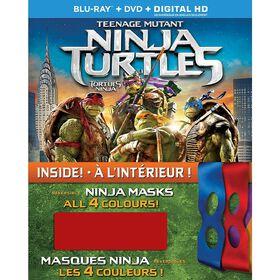 Teenage Mutant Ninja Turtles - Blu-ray + DVD + Digital HD + Reversible Masks
