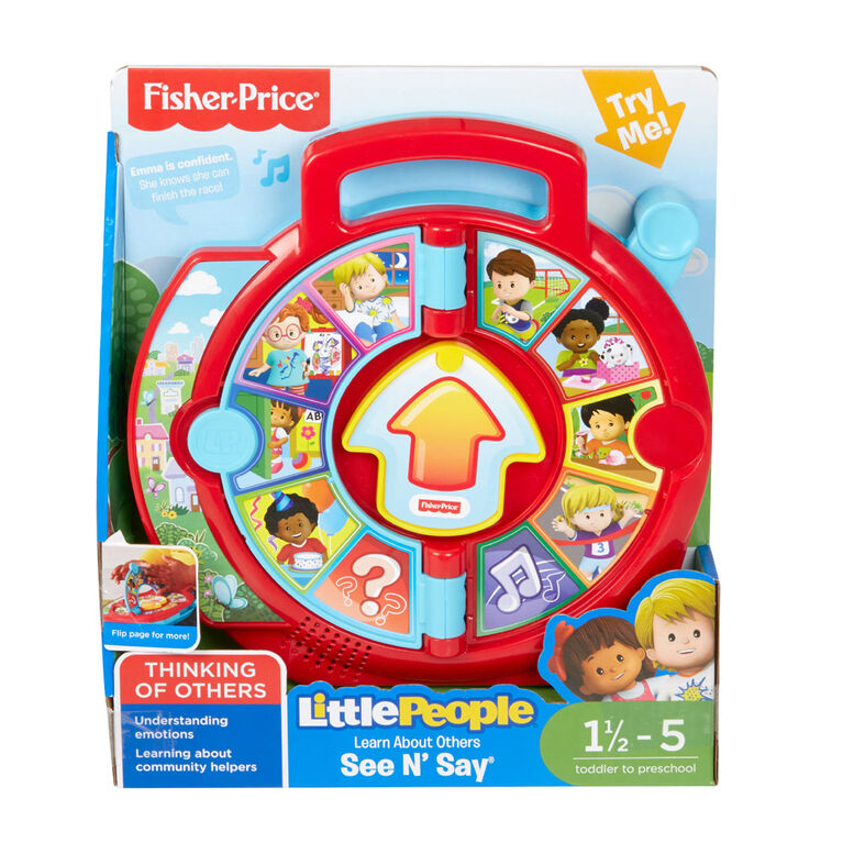 Fisher-Price Little People - Learn About Others See 'n Say - English Edition