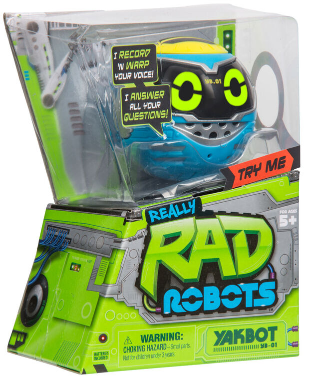 Real Rad Robots Yakbot - Blue Yakbot- Édition anglaise