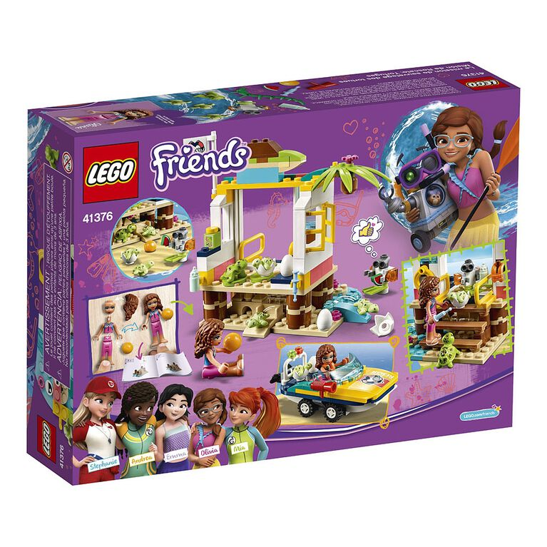 LEGO Friends La mission de sauvetage des tortues 41376