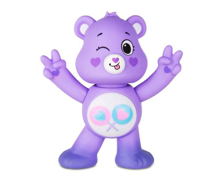 Care Bears Unlock the Magic Interactive Figures - Share Bear- English Edition