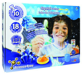 Science4you - Crystal Factory Glow in the Dark