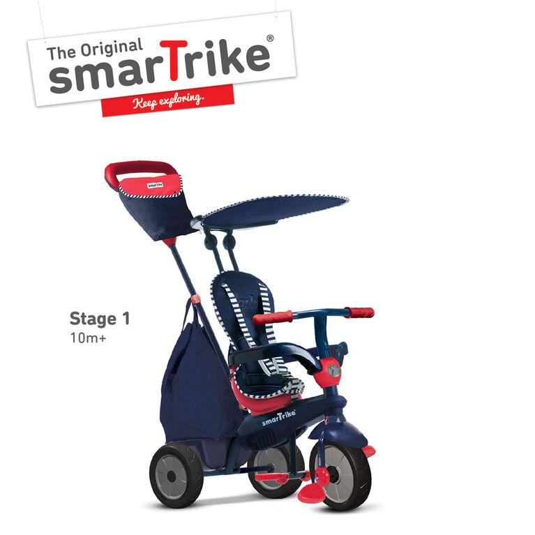 smarTrike: Star - Bleu 4 in 1 Trike Aménageable (Trike qui transitions avec les enfants) - Notre exclusivité