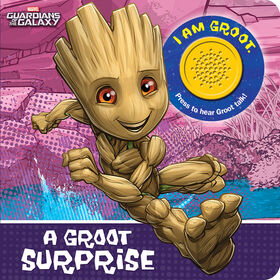 1 Button Sound Book Marvel Guardians Of The Galaxy: A Groot Surprise - English Edition