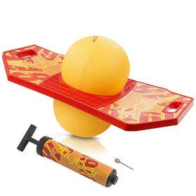 Planche de pogo Flybar avec pompe pour les 6 ans et plus (soleil rouge)