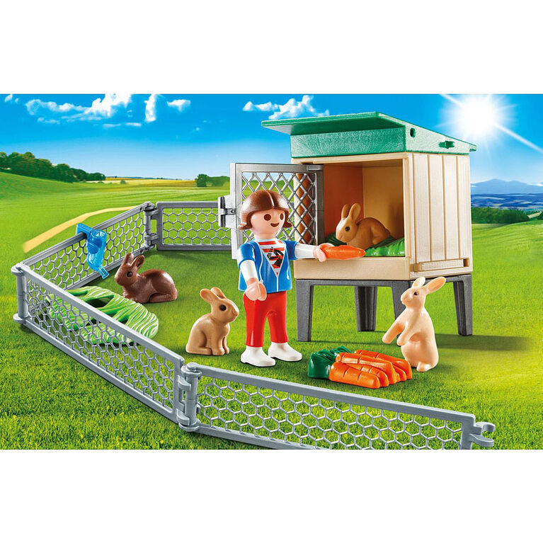 Playmobil - Bunny Barn Carry Case