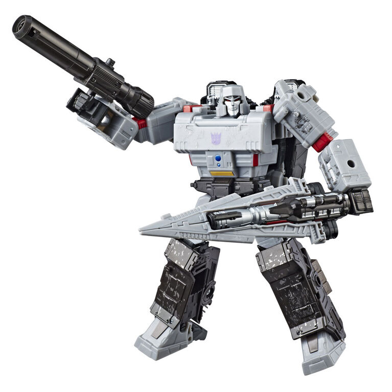 Hasbro Transformers Generations War for Cybertron: Siege Voyager Class Megatron Action Figure