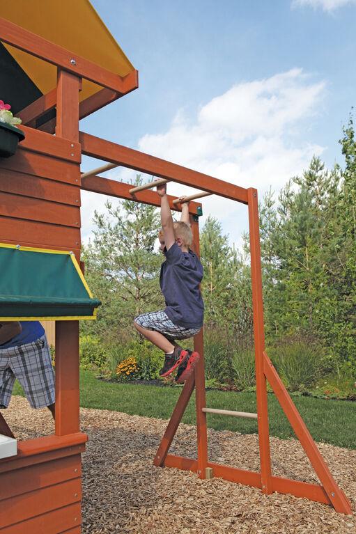 KidKraft Hazelwood Wooden Swing Set