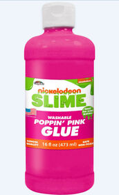 Nickelodeon 16 Oz Slime Glue-Pink