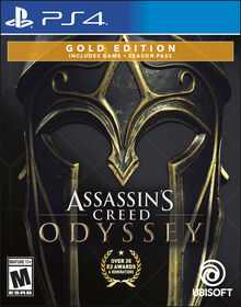 Assassin's Creed Odyssey Gold Steelbook Edition - PlayStation 4
