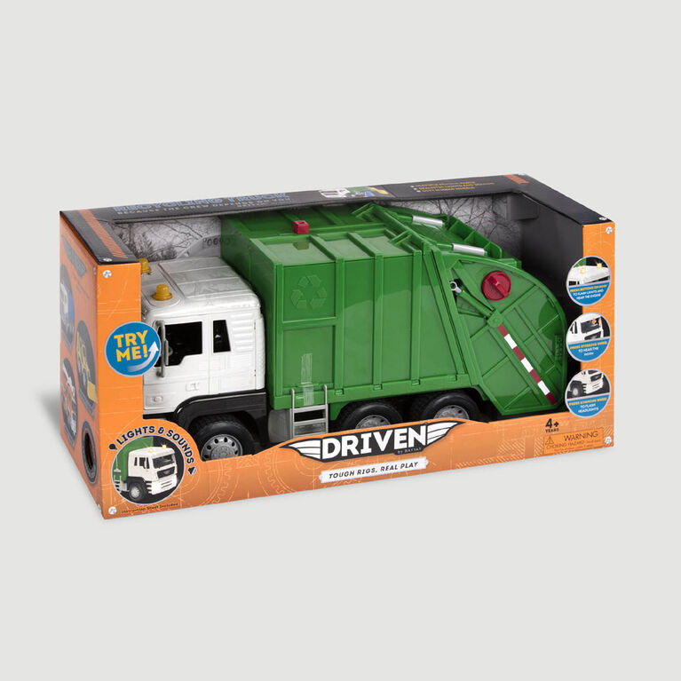 Driven, Recycling Truck with Lights and Sounds