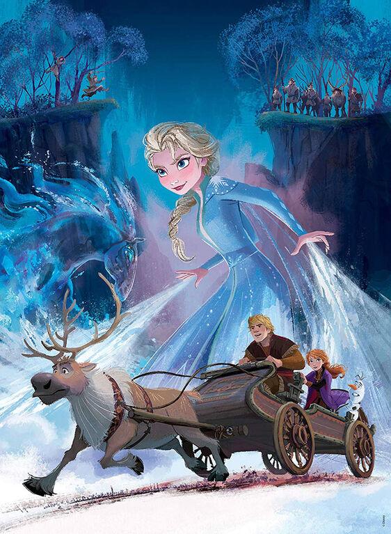 Disney Frozen 2 - The Mysterious Forest 200 Piece Puzzle
