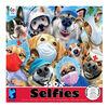 Ceaco Selfies Puzzle de 550 pièces Selfies masqués