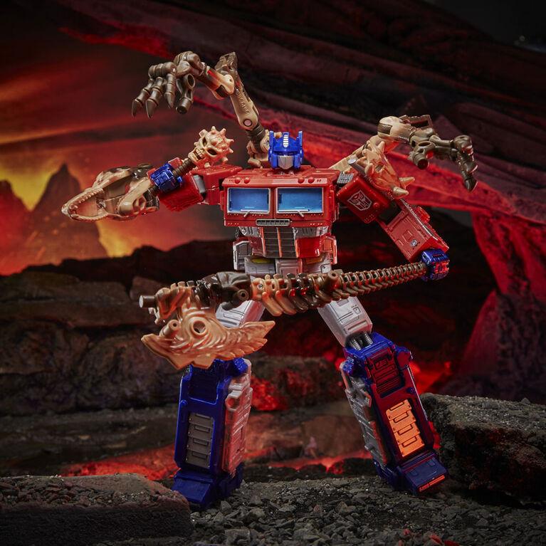 Transformers Kingdom - WFC-K11 Optimus Prime Leader