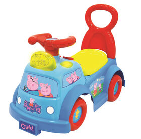 Peppa Pig Lights and Sounds Musical Ride-on