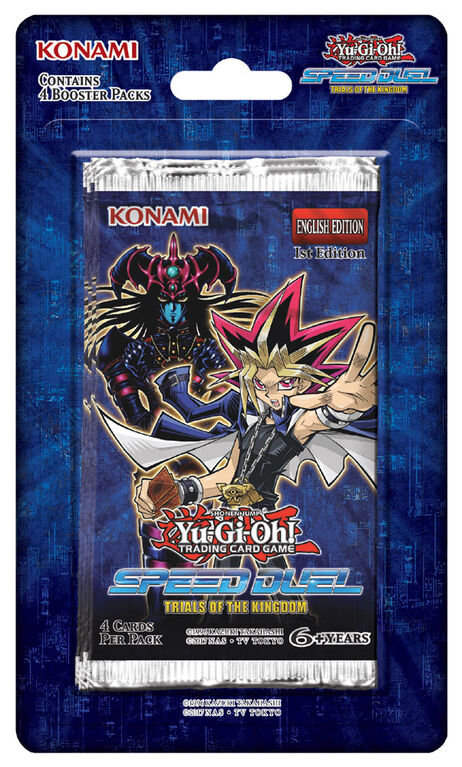 "Yu-Gi-Oh! Speed Duel ""Trials of the Kingdom"" Blister"