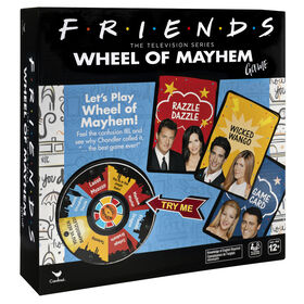 Friends TV Show, Wheel of Mayhem Game, for Teens and Adults- English Edition