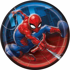 """Spider-Man  7""""  Plates, 8 pieces"""