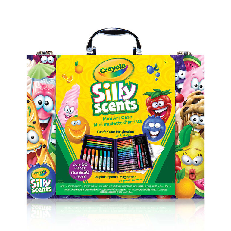 Crayola - Mini mallette Inspiration artistique Silly Scents