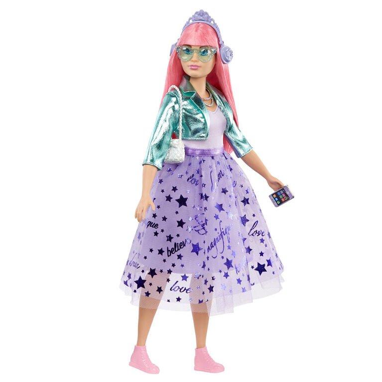 Barbie Princess Adventure Daisy Doll in Princess Fashion (12-inch) with Pet