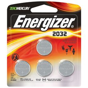 Energizer Max - 032 Coin Cell Battery - 4 pack