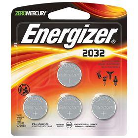 Energizer Max - Pile miniature 2032 - Emballage de 4