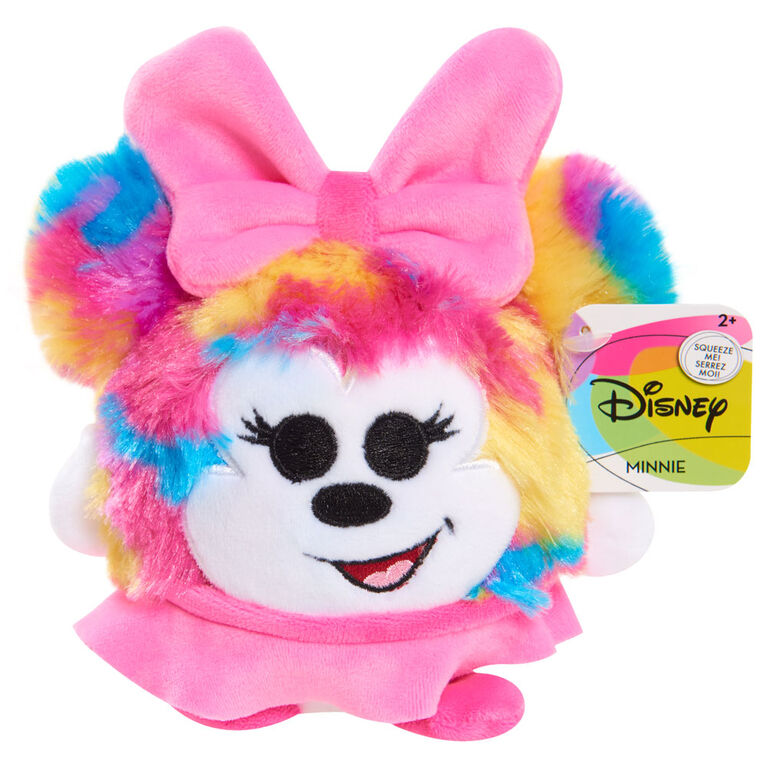 Disney Classics Slo Foam Plush Minnie Tie-dyed