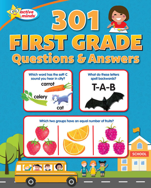First Grade Questions And Answers - English Edition