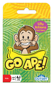 Outset Media - Go Ape Card Game - English Edition