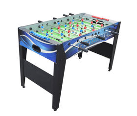 Allure 48 Inch Foosball Table - Black and Blue