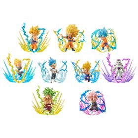 Banpresto assortiment figurine World Collectable -BURST.