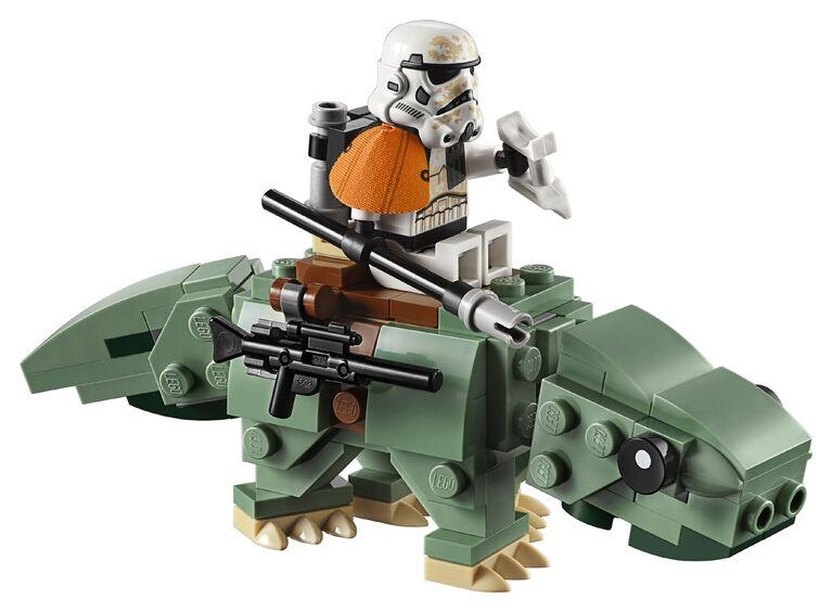 LEGO Star Wars Escape Pod vs Dewback Microfighters 75228