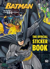 Batman: The Official Sticker Book (DC Batman) - English Edition
