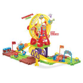 Toy Chef 43-Piece Railway & Ferris Wheel Set