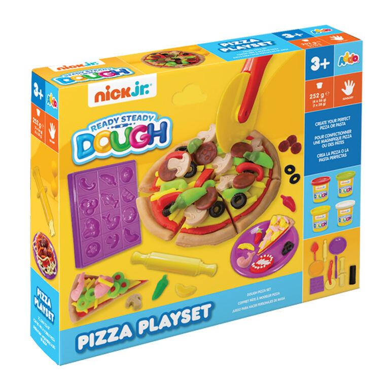 Coffret Ready Steady Dough Pizza de Nick Jr - Notre exclusivité