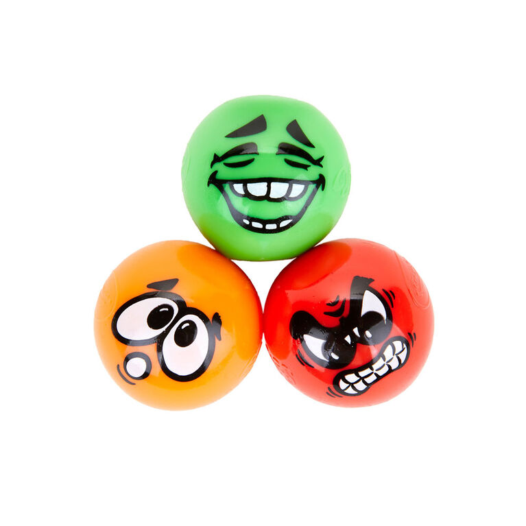 3 globules Gobbles Crayola - Visages