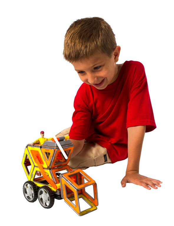 Magformers XL Cruiser Construction 37 Piece Set