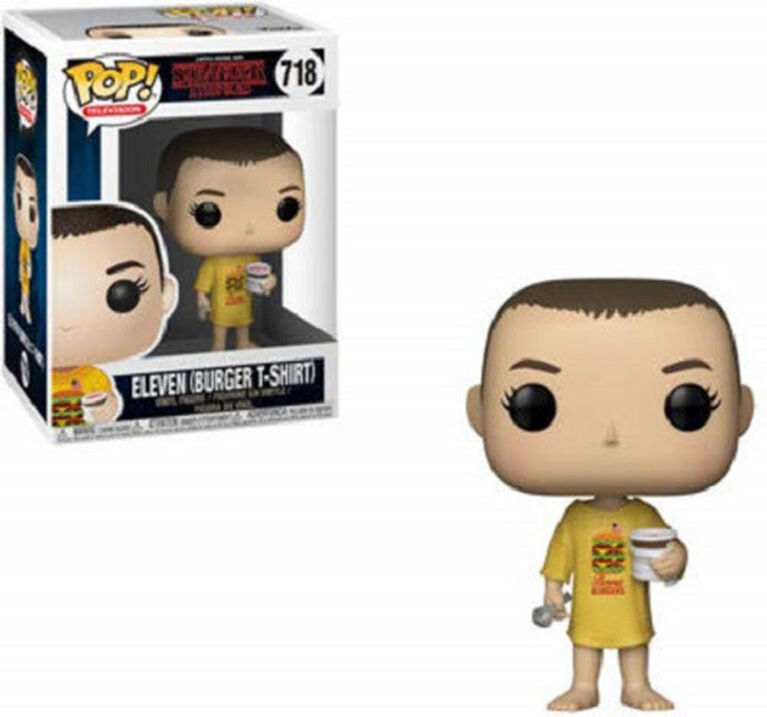 Funko POP Television: Stranger Things - Eleven in Burger Tee Vinyl Figure