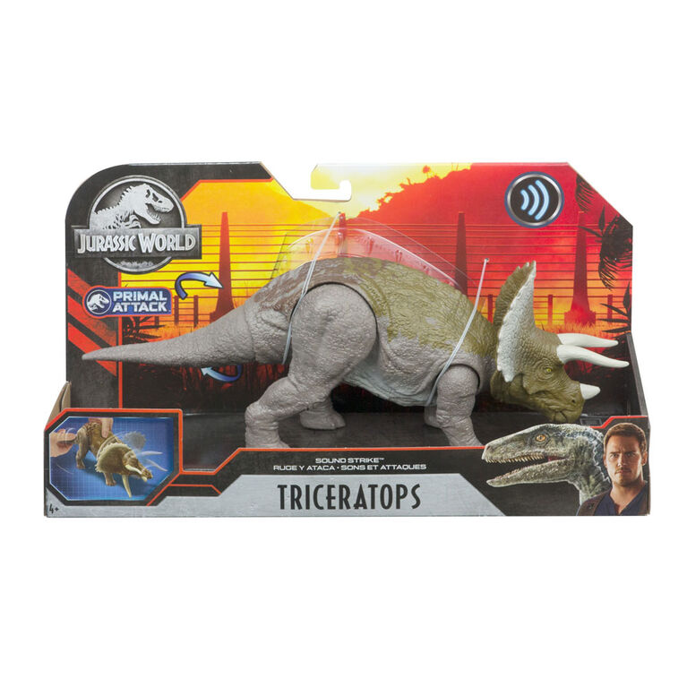 Jurassic World Sound Strike Triceratops