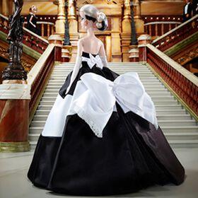 Barbie - Poupée Noir et blanc pour toujours