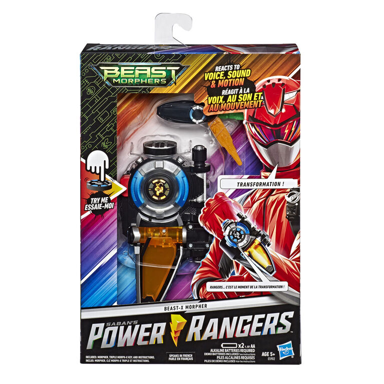 Power Rangers Beast Morphers Beast-X Morpher- French Edition