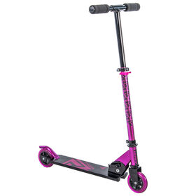 Huffy Prizm Folding 100mm Inline Scooter, Pink