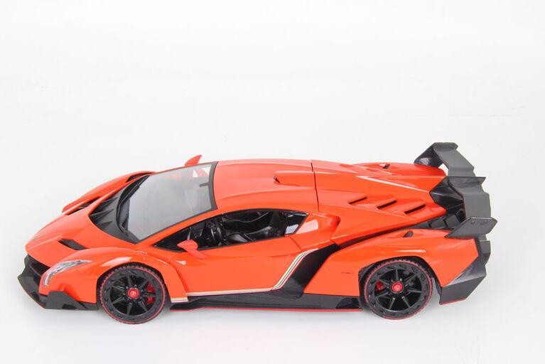 Braha 1:14 Scare RC-Lamborghini Veneno -  Les couleurs et les motifs peuvent varier