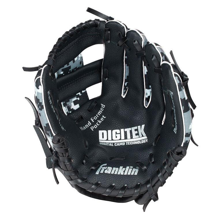 """95"""" Cammo Digi Baseball Glove - Black/White"""