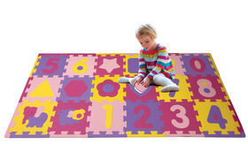 Animals & Numbers Puzzle Playmat