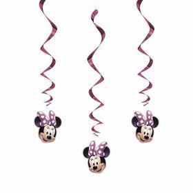 "Minnie  Hanging Decor 26"" 3 pieces"