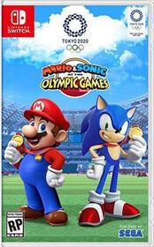 Nintendo Switch Mario Sonic Olympic Games Tokyo 2020