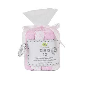 KidiComfort Washcloths - 12 Pack - Pink